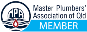 We are a member of the Master Plumbers' Association of QLD