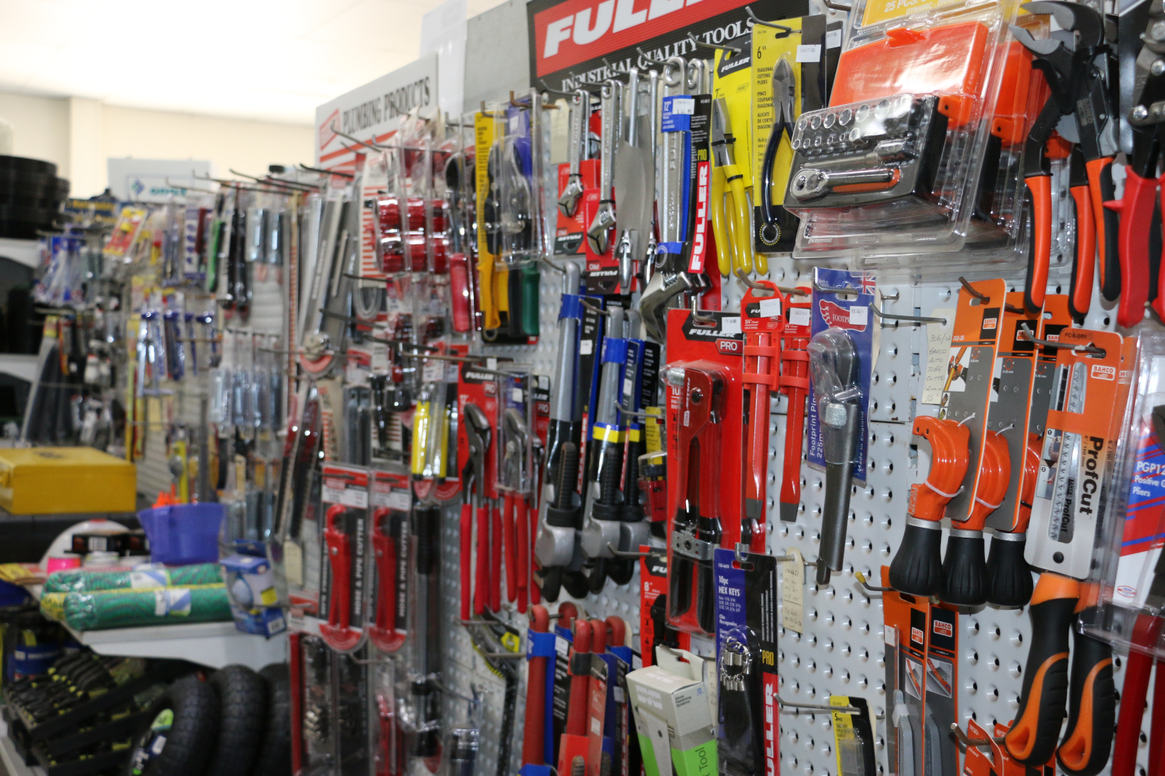 Plumbing tools and accessories