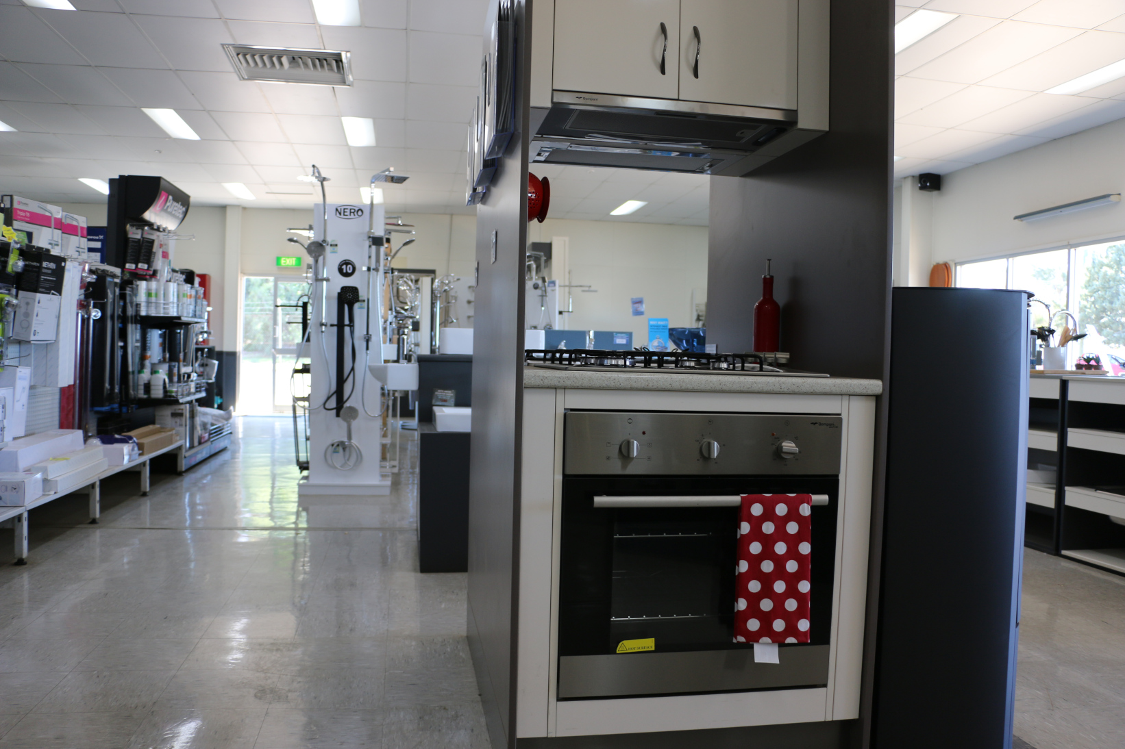 Bathroom, Kitchen and Laundry appliances